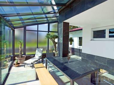 Wintergarten Innen mit viel Sonne Ambitop 004