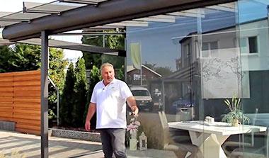 Terrassendach zum Wintergarten erweitern – Mit System