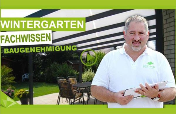 Wintergarten Baugenehmigung erklärt von Ambitop